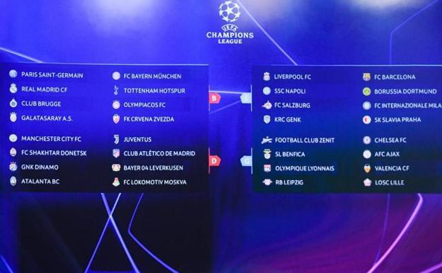 Calendario Real Madrid Abril 2020.Horarios De Los Partidos De Champions De Real Madrid Barca