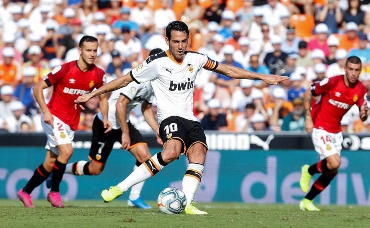 El Valencia CF-RCD Mallorca, en imágenes