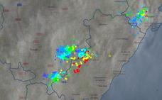 Caen 900 rayos en Castellón en un domingo de tormentas intensas con granizo
