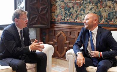 Puig y Gaspar acuerdan colaborar para transferir competencias y elaborar presupuestos