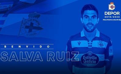El Valencia CF vende a Salva Ruiz al Deportivo