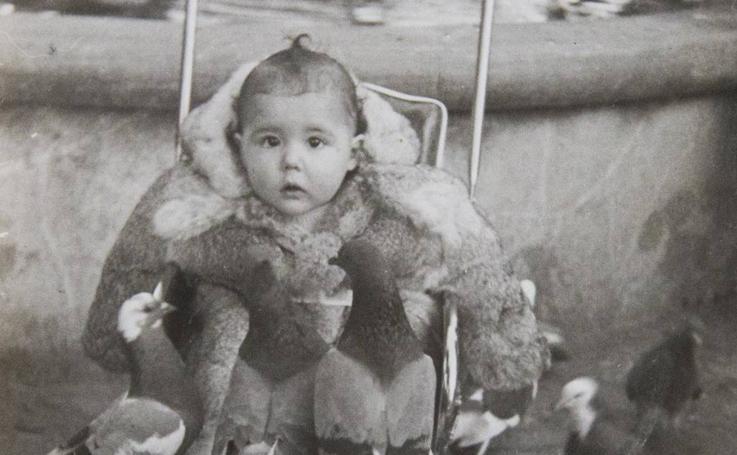 El álbum de la infancia de Laura Fitera