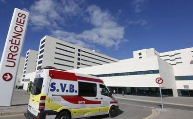 Cinco ciclistas heridos al arrollarlos una furgoneta en una carretera de Bétera