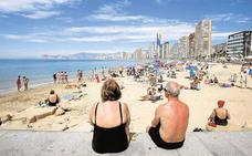 La Costa Blanca supera el 90% de ocupación por el tirón de los turistas nacionales y portugueses