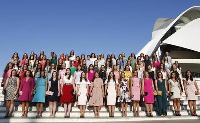 Las candidatas a falleras mayores de Valencia 2020 inician su sueño