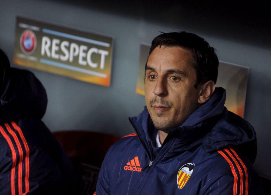 Neville: «Nunca debería haber dicho sí al Valencia CF»