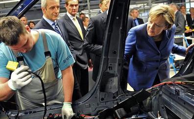 La producción industrial alemana cae otro 4,2%