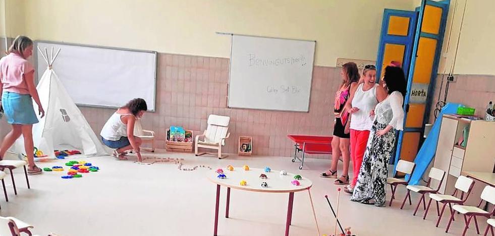 El colegio San Blas de Albal inaugura un aula para 18 niños de entre 2 y 3 años