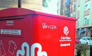 Los contenedores de ropa de Burjassot recogen 40.000 kilos