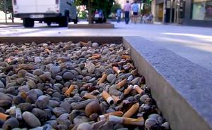 Multas a los fumadores que ensucien