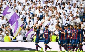 El Bernabéu, un dulce fin de fiesta para el Levante