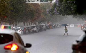 Así es la gota fría que dejará en Valencia lluvias de hasta 100 litros