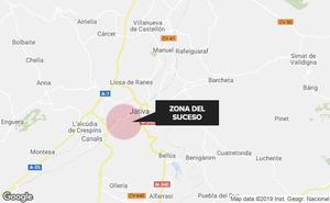 Tres heridos en un accidente de coche en Xàtiva