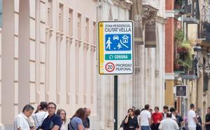 La puesta en marcha de las cámaras en los accesos al centro sigue sin plazos
