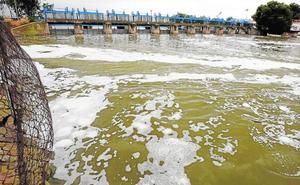 La Albufera desagua para no inundar los arrozales