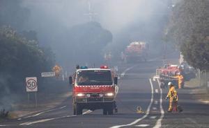 Detenidos doce niños por su implicación en los incendios que calcinan el este de Australia