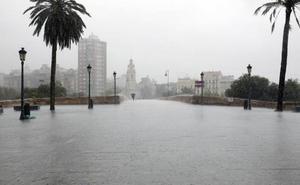 Hacia dónde va la DANA en Valencia y Alicante: previsión del tiempo por horas para el jueves