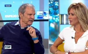 Susanna Griso y Jesús Mariñas discuten durante la emisión en 'Espejo Público'