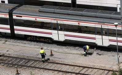 Todos los trenes afectados por el temporal en la Comunitat
