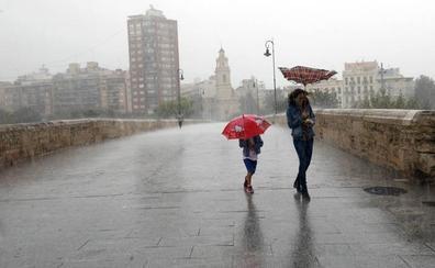 Las localidades en las que más ha llovido esta noche