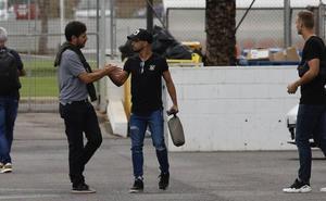 Alemany abandona la sede del club sin hacer declaraciones