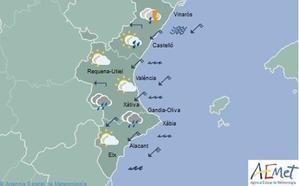 ¿Lloverá todo el fin de semana en Valencia?
