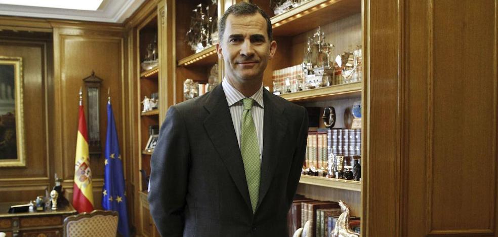 El Rey iniciará la ronda el lunes con el PRC y cerrará con el PSOE el martes