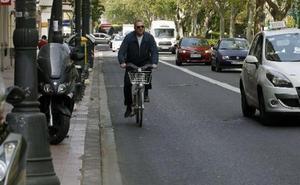 El Ayuntamiento adjudica un carril ciclista de 2,2 kilómetros en Primado Reig