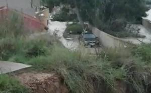 Las imágenes del temporal en la Comunitat