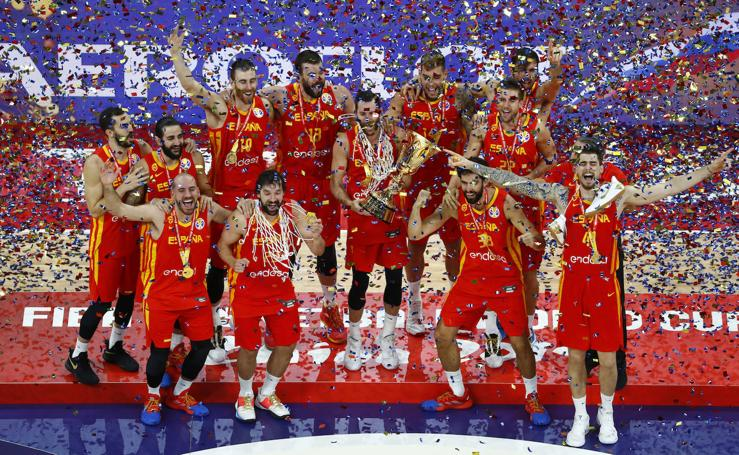 Las mejores imágenes de la celebración española del Mundial