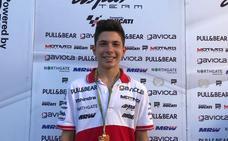 Carlos Tatay, campeón de la Red Bull MotoGP Rookies Cup