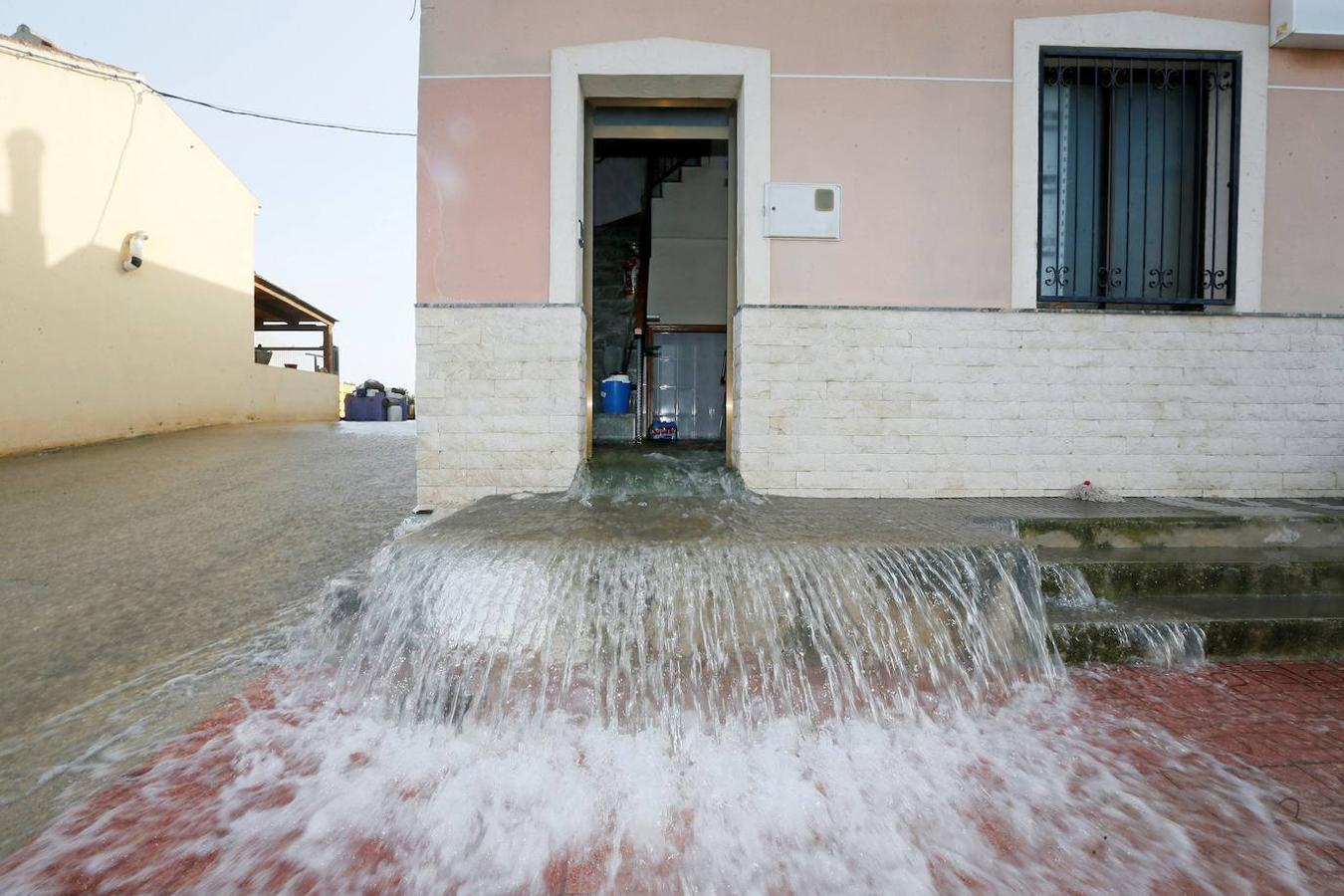 Los graves destrozos por las lluvias en Dolores