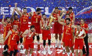 España alcanza la gloria tras aplastar a Argentina