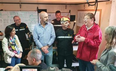 Ximo Puig anuncia que el pleno del Consell aprobará el viernes un decreto de ayudas por las lluvias