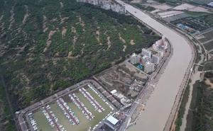 La desembocadura del río Segura desde las alturas