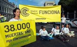 Greenpeace denuncia con un spot que la contaminación en España mata 30 veces más que los accidentes de tráfico