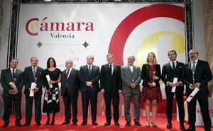 La Cámara de Valencia premia a Tejidos Royo, Alfatec Sistemas, Power Electronics España, IVI RMA Global y Laiex