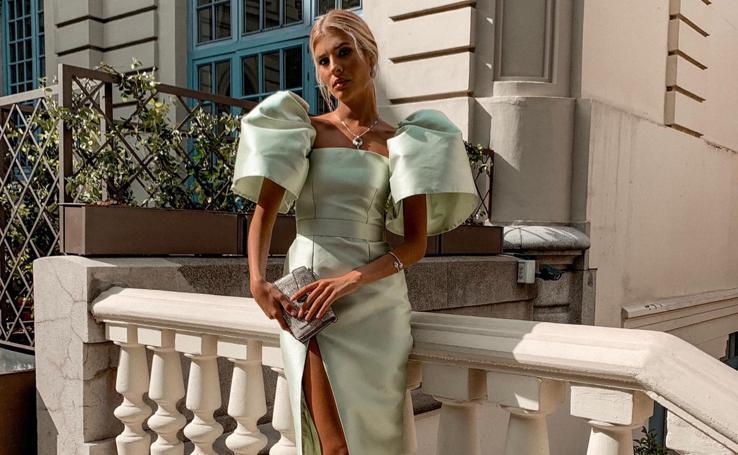 El carísimo look de invitada de la 'influencer' valenciana Teresa Andrés Gonzalbo
