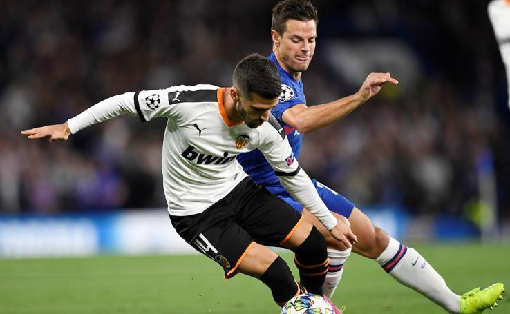 El Chelsea-Valencia de Champions en imágenes