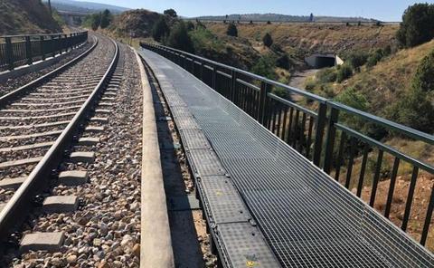 La línea de Teruel reanuda el tráfico de Cercanías pero sigue cortada hasta Zaragoza
