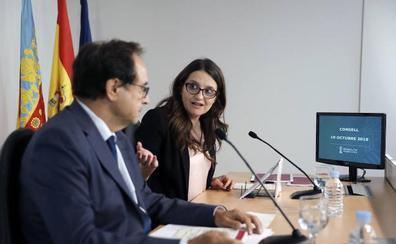 Oltra y Soler tacharon de «chantaje» el mismo FLA que ahora «salva» al Consell