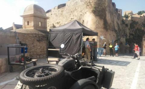 La nueva serie de Movistar+ que ha convertido un castillo de la Comunitat en un emplazamiento nazi
