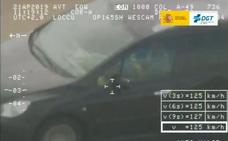 La pillada de la DGT a un conductor durante su insólita temeridad