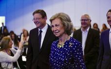 La Reina Sofía preside este martes en Valencia el VII Congreso de Investigación en Enfermedades Neurodegenerativas