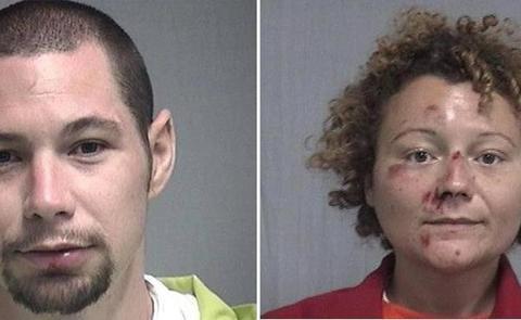 Una pareja practica sexo en el coche de policía tras ser detenidos en Florida