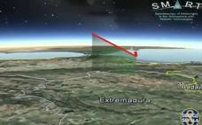 Una bola de fuego cruza el sur de España