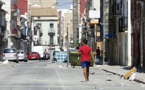 Hacienda avisa a Ribó de que perderá ayudas por gastar «cero euros» en el Cabanyal