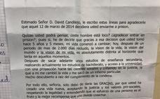 Un preso agradece en una carta al juez que lo mandó a la cárcel por «darle una vida nueva»