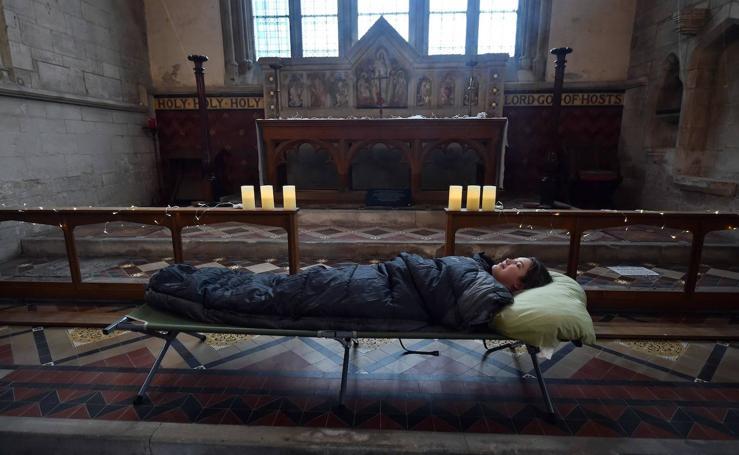 ¿Te atreves a pasar la noche en una iglesia abandonada?