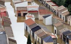 ¿Por qué se considera anómalo el temporal que ha afectado a la Vega Baja?